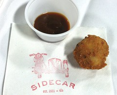 Sidecar SLO's Bacon Tater Tots
