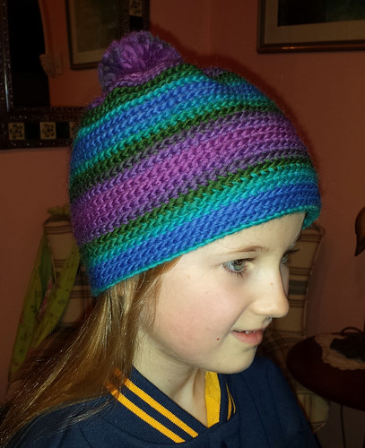 OTT Beanie with pompom - child size
