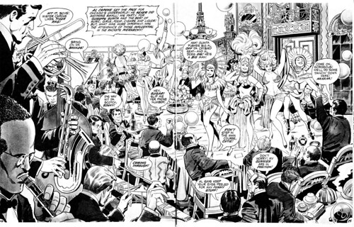 in the days of the mob A by Jack Kirby by Derek Langille