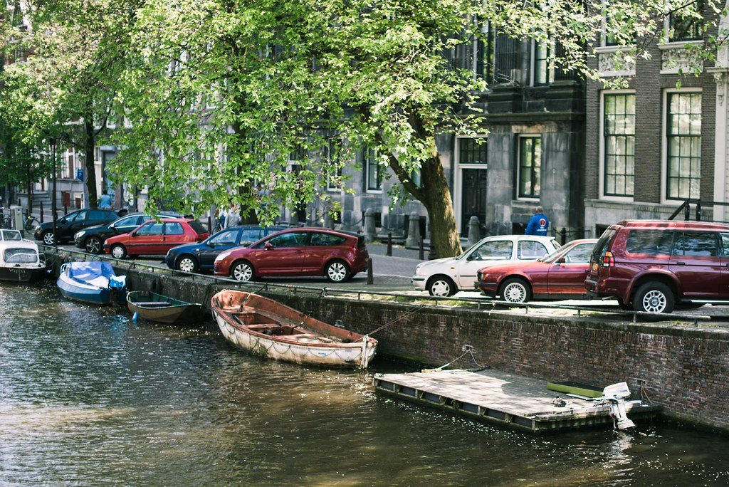 a daytrip to Amsterdam.