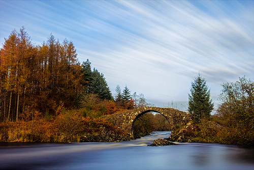 Roman Bridge Over The River Minnoch by emperor1959