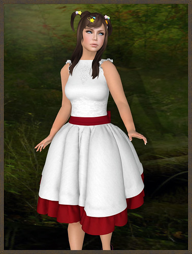 Sakide - GXG - Silent Dress - White by Tigist Sapphire