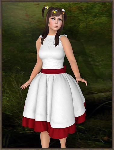 Sakide - GXG - Silent Dress - White by Tigist Sapphire