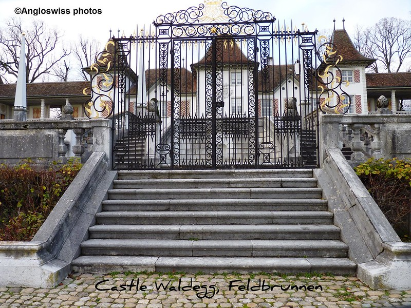 The Gates of Castle Waldegg, Feldbrunnen, Switzerland