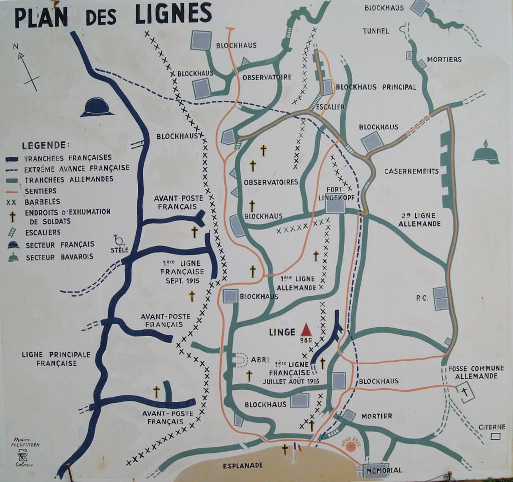 Plan des lignes
