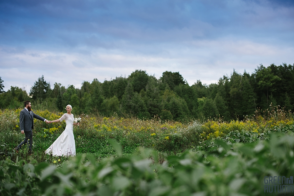 Autumn South Pond Farms Wedding Photography 0061