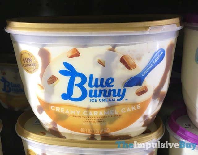 Blue Bunny Limited Edition Creamy Caramel Cake Ice Cream