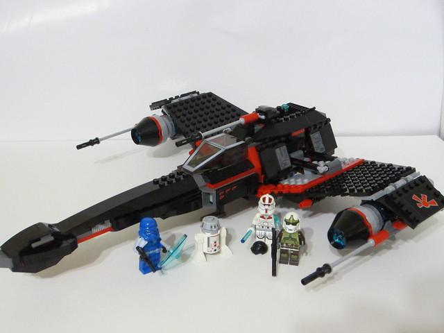 75018 Jek-14's Stealth Starfighter