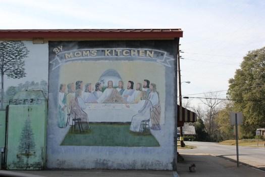 Preston, Georgia Mural