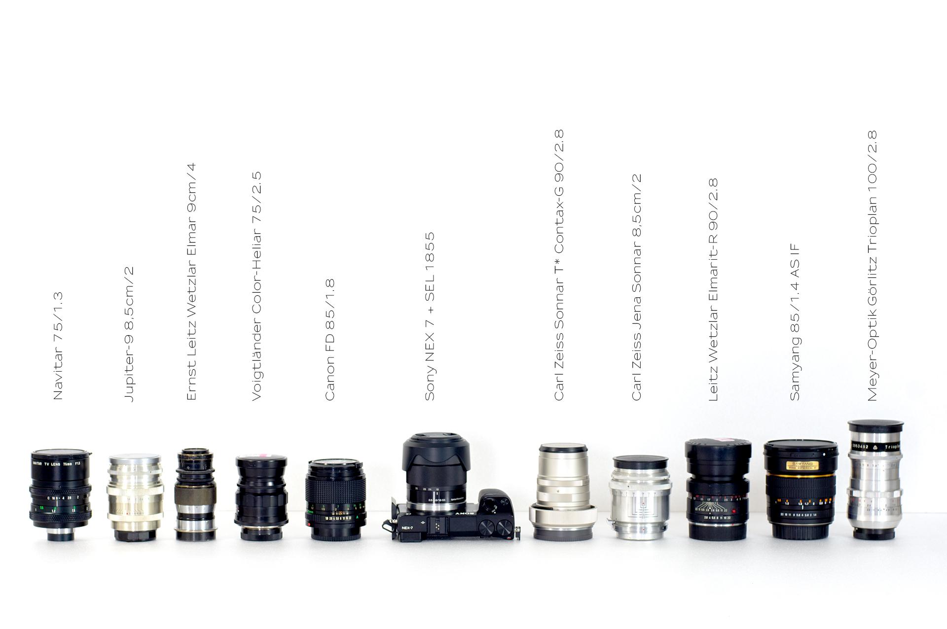 Portrait lens. Which one? 30 short portrait lenses