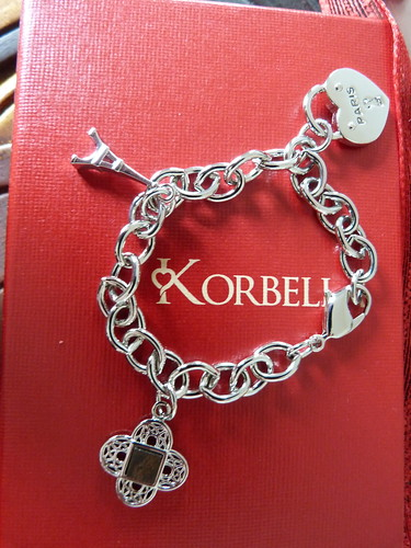 Korbella charm bracelet