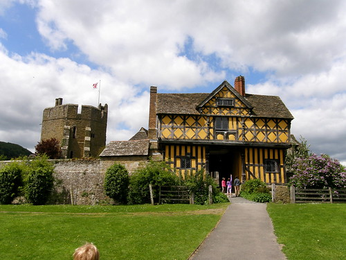 Stokesay Castle - South Tower and Gatehouse
