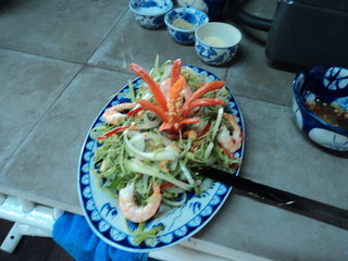 Morning Glory Salad @ the Vietnamese Cookery Centre