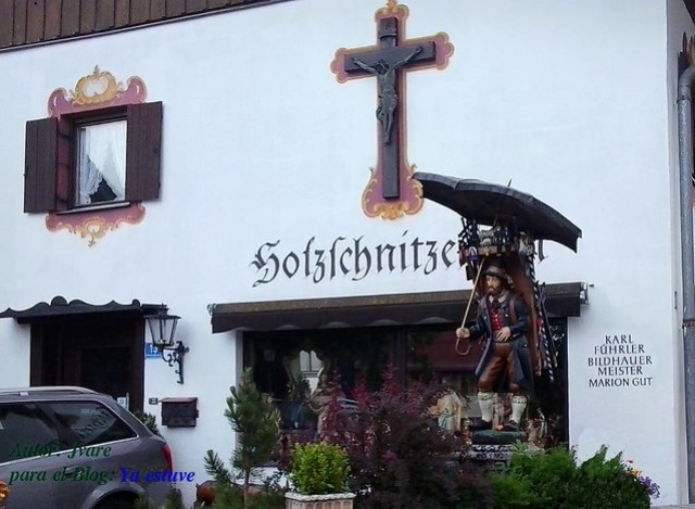 Tallas Religiosas Oberammergau