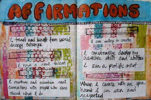Affirmations page update
