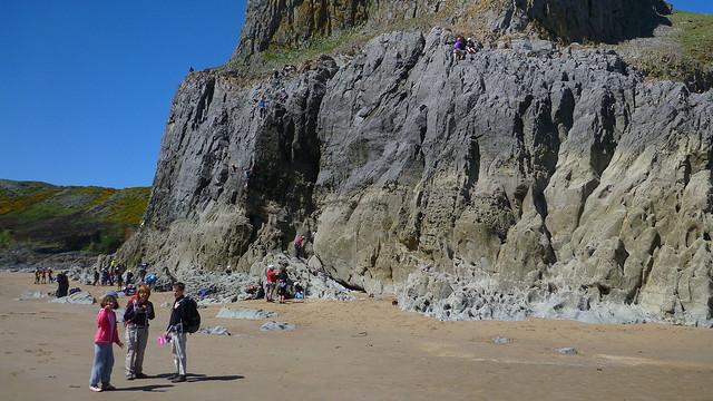 Fall Bay, Mewslade Bay
