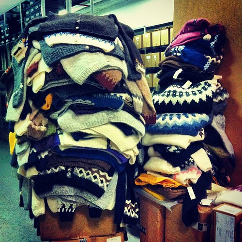 Anybody need a wool sweater? We got some!