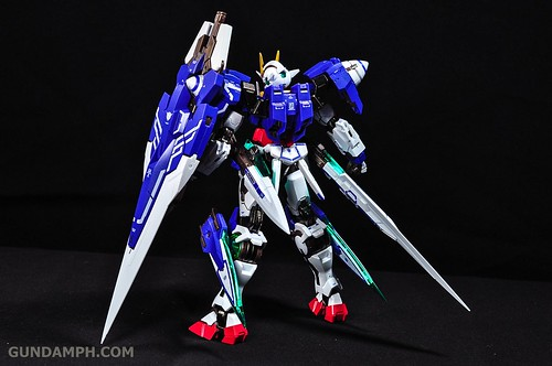 Metal Build 00 Gundam 7 Sword and MB 0 Raiser Review Unboxing (52)