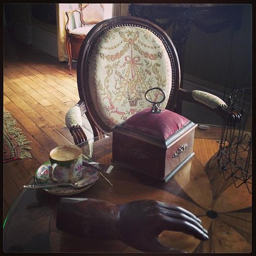 #cafe at #Chateau de #LaMontchevalleraie http://wwww.chateaulamontchevalleraie.com http://www.facebook.com/Chateaudelamontchevalleraie by LaMontchevalleraie