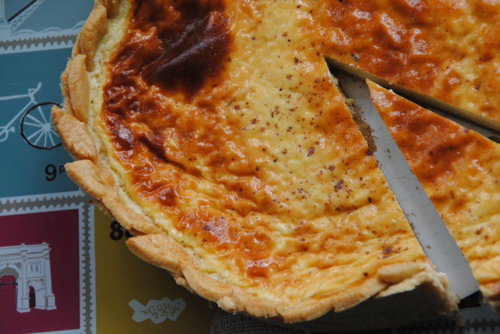 English Custard Tart Great British Bake Off GBBO Delia