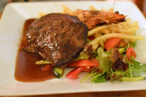 300g Angus rump steak