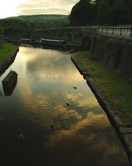 20130806-47_Canal reflections - Bugsworth Basin - Buxworth