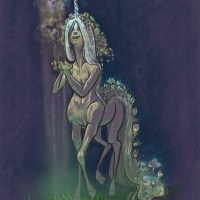 Daily Sketch - Unicorn Centaur