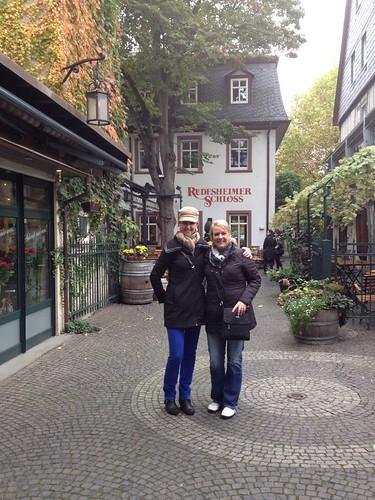 Teri and Melissa in Rudesheim