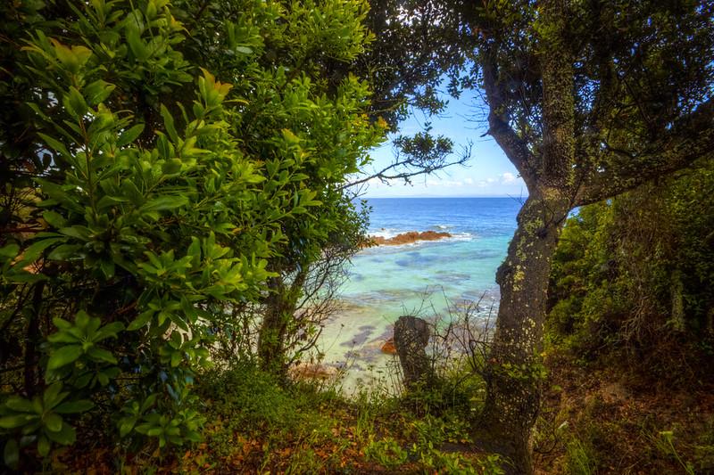 Sardegna all'orizzonte, dallo Sperone (Bonifacio), Corsica