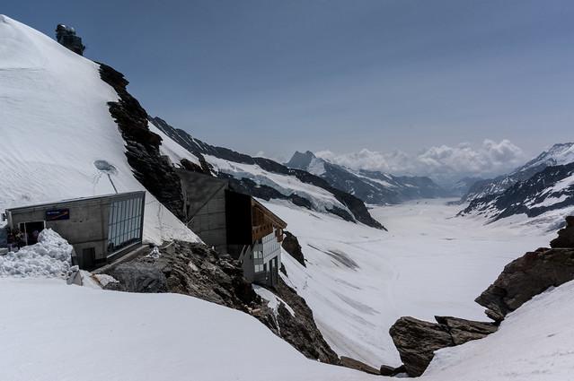 Jungfraujoch - Aletsch Glacier (Plateau View II)