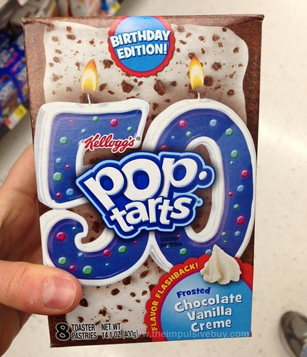 Kellogg's Birthday Edition! Flavor Flashback! Frosted Chocolate Vanilla Creme Pop-Tarts