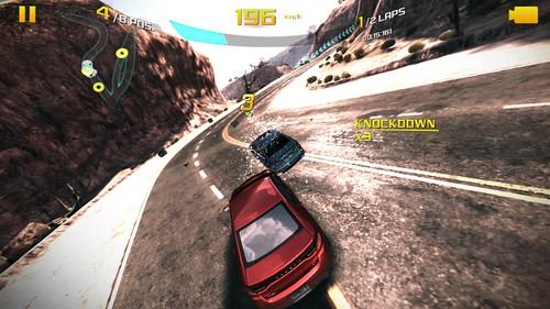 การเล่นเกม Asphalt 8: Airborne บน Nokia Lumia 1520