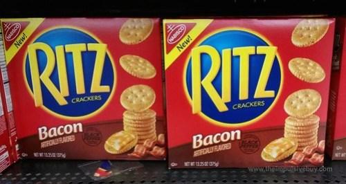 Bacon Ritz Crackers