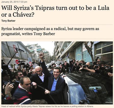 15a25 FT Presenta victoria Syriza Luza o Chávez