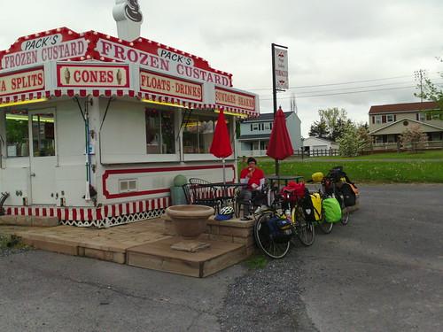 ice cream near New Market, VA
