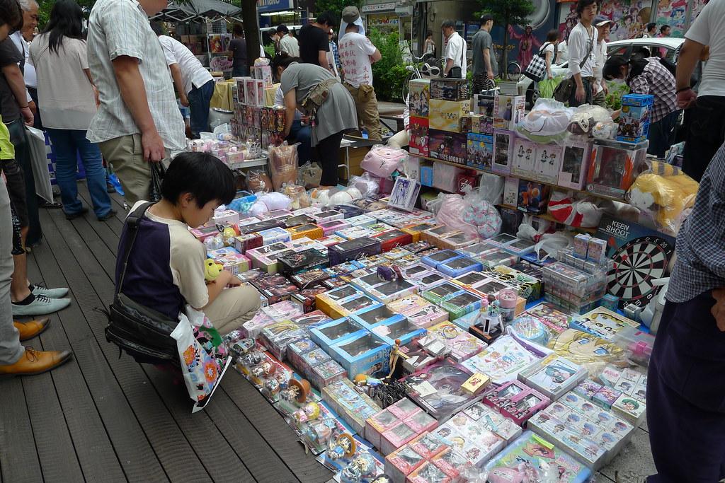 magnetic-rose.net Akihabara Flea Market