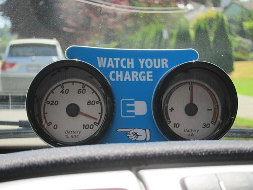 Smart EV two extra dials