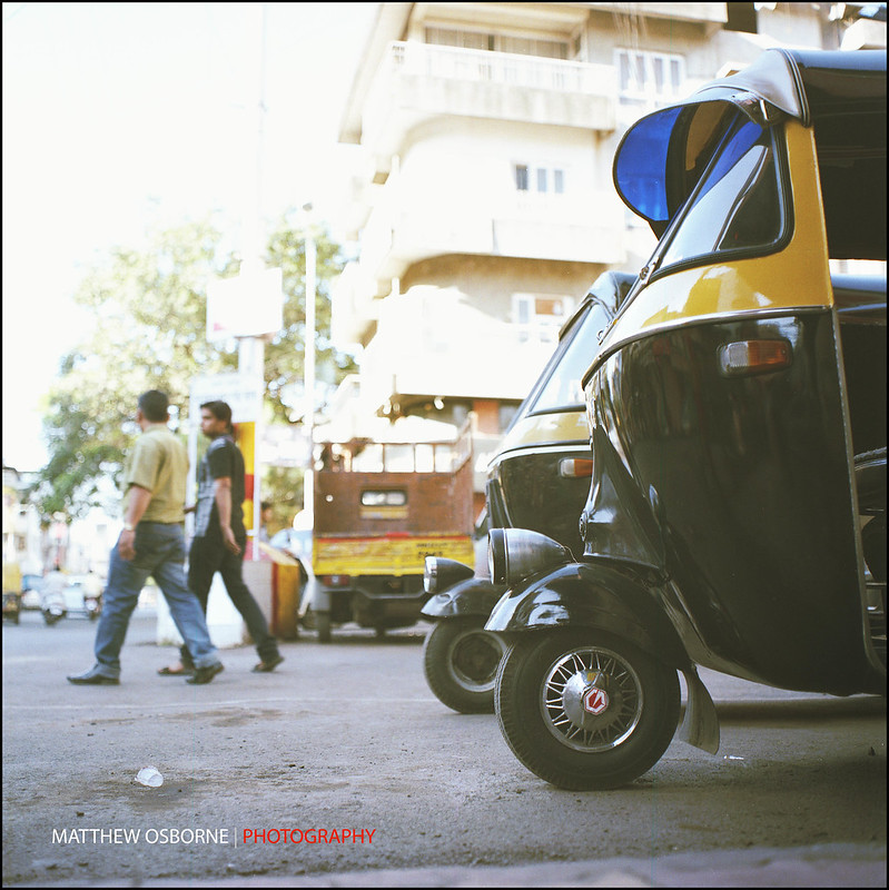 6x6 India Street Photography on FIlm