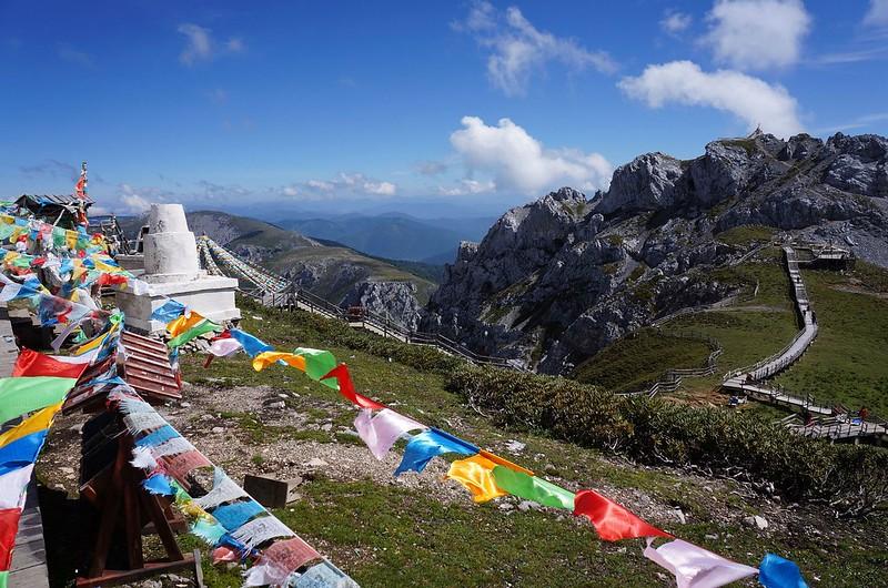 【雲南.香格里拉】石卡雪山遠眺群山美景 | TERESA的旅遊筆記