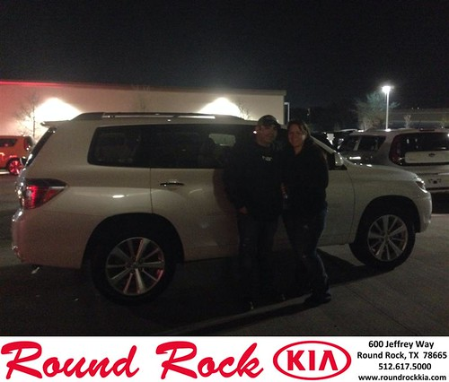 Thank you to Shannon And Chris Grace on your new 2010 #Toyota #Highlander Hybrid from Jorge Benavides and everyone at Round Rock Kia! by RoundRockKia