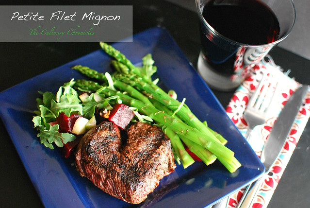 how to cook petite filet of beef