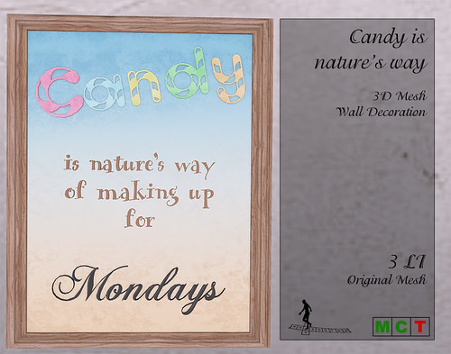 Coming soon - Candy is nature's way