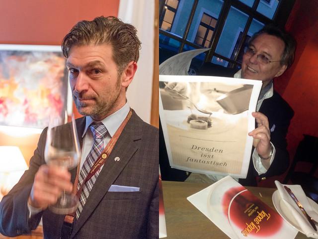Clemens Lutz und Armin Stroeve