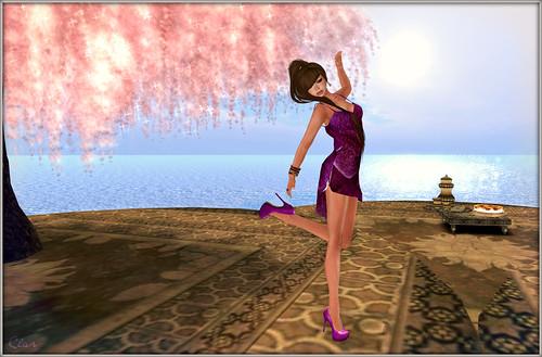 Purple Orchid Dress 5