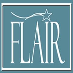 Flair Logo Blue Square