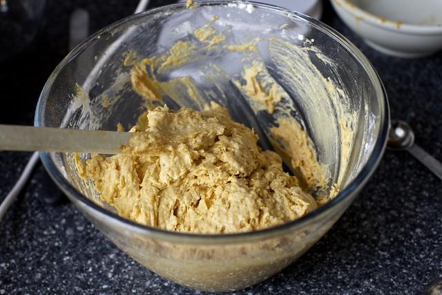 sweet potato cake batter