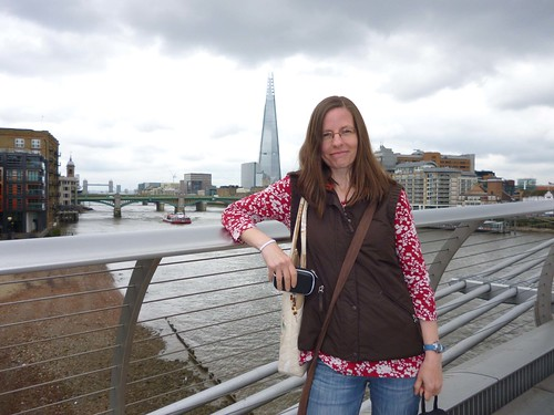 mama on the millenium bridge