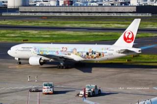 "JA8985 ""Tokyo Disney Resort livery"""