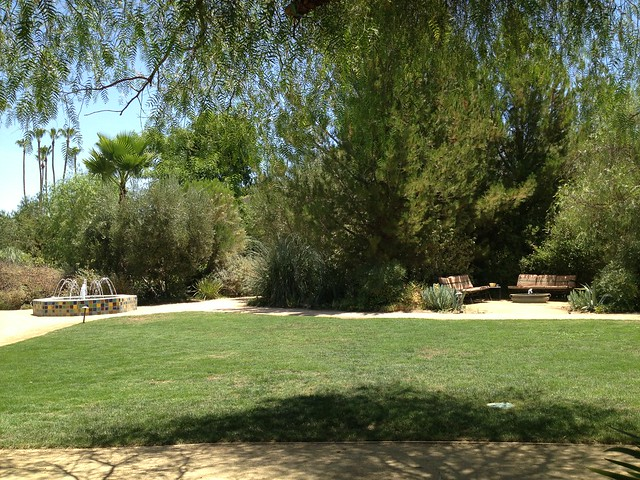 The Parker Hotel grounds