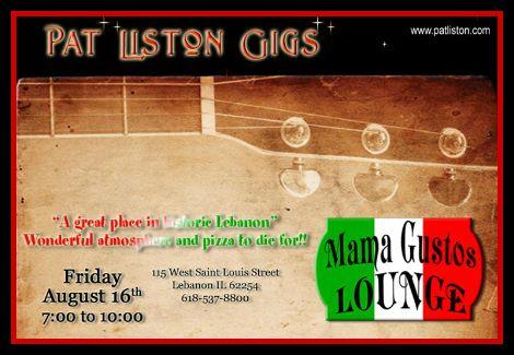Pat Liston 8-16-13
